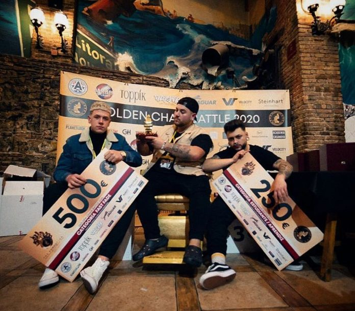Adrián MijancoMAD39096 BARBER 2s, bicampió del 6è Golden Chair International Battle