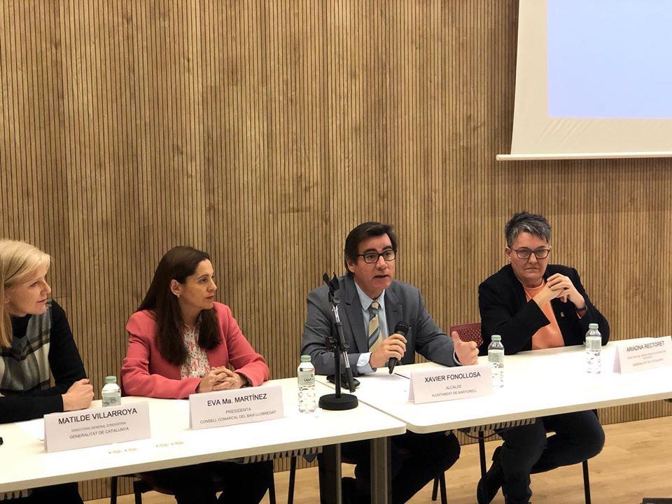 L'alcalde Fonollosa inaugura el Consell de la Formació Professional del Baix Llobregat