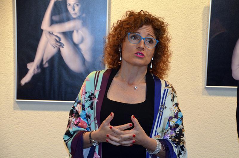 Exposició '23 dones celebren el seu cos'. Glòria Cruz