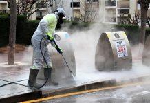Neteja i desinfecció contenidors