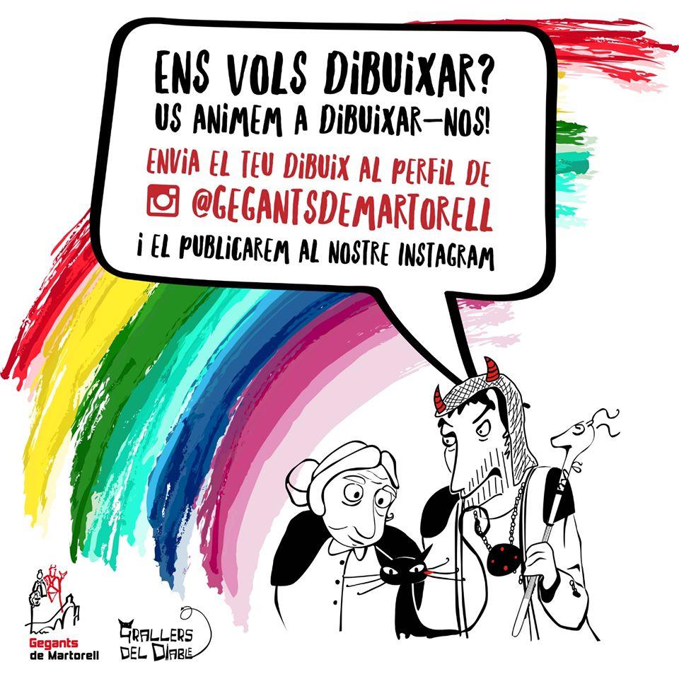 Concurs de dibuix dels Gegants de Martorell