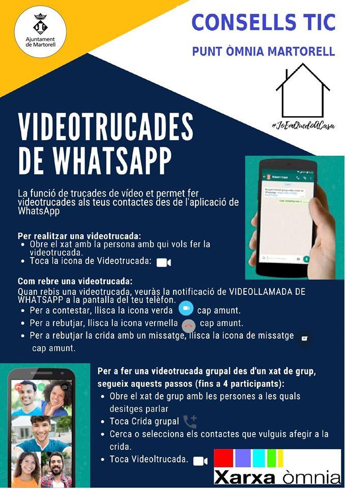 Videotrucades de WhatsApp. Punt Òmnia