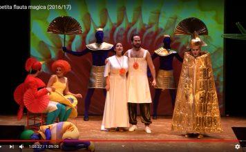 La petita flauta màgica, espectacle promogut a la campanya 'El Liceu a casa'