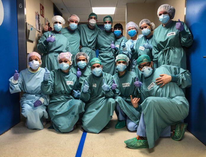 Personal Sanitari de l'Hospital Sant Joan de Déu de Martorell