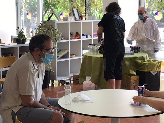 Donació de sang a Martorell. De l'1 al 3 de maig de 2020