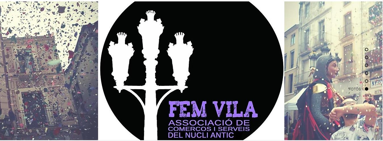Nova web de l'associació Fem Vila