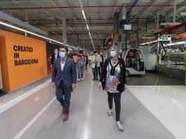 Visita del vicepresident Aragonès i la consellera Vergés a SEAT. Fotografia: Generalitat de Catalunya