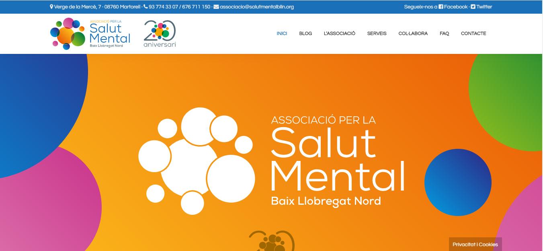 Nou web de l'Associació per la Salut Mental