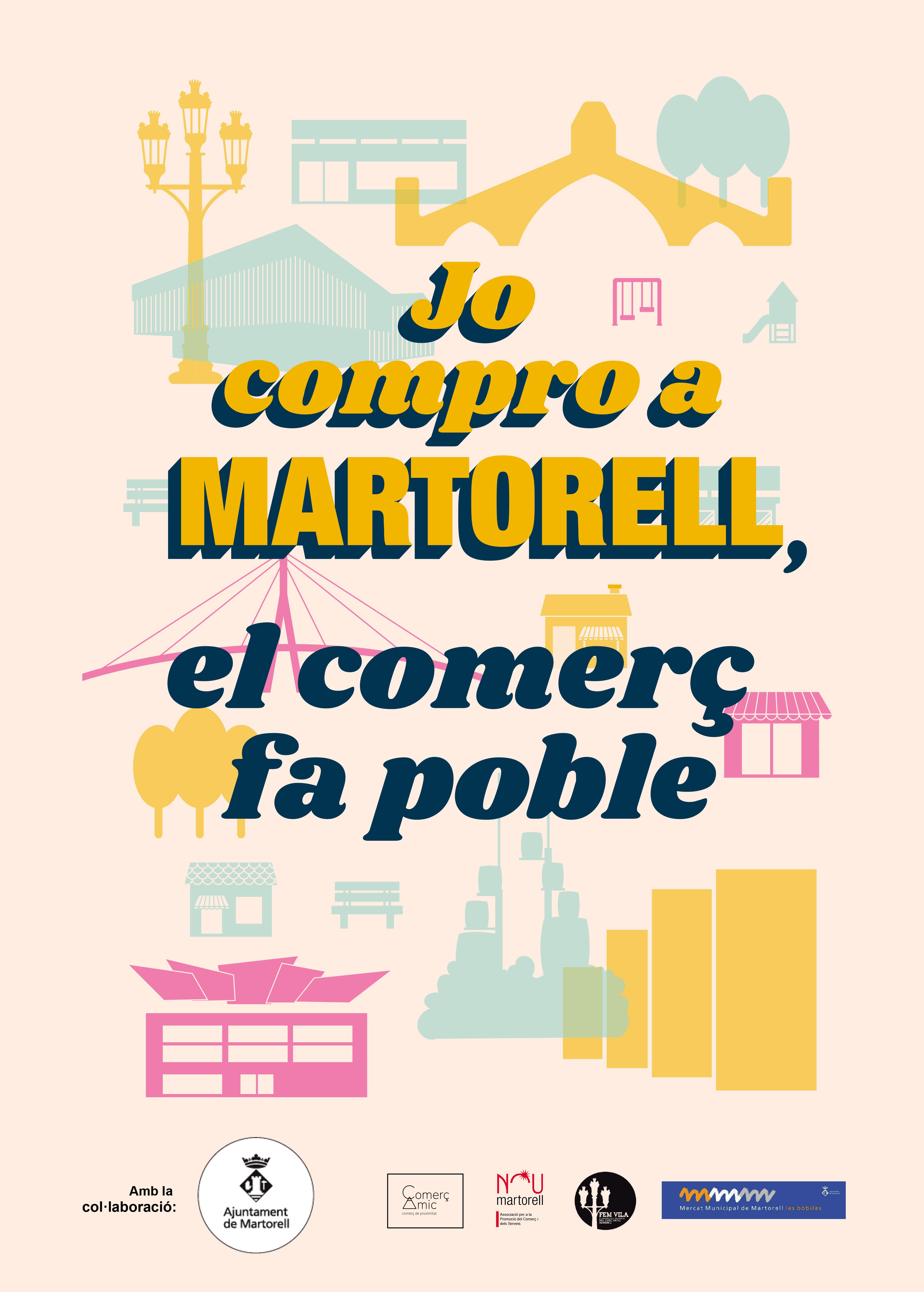 Campanya 'Jo compro a Martorell, el comerç fa poble'