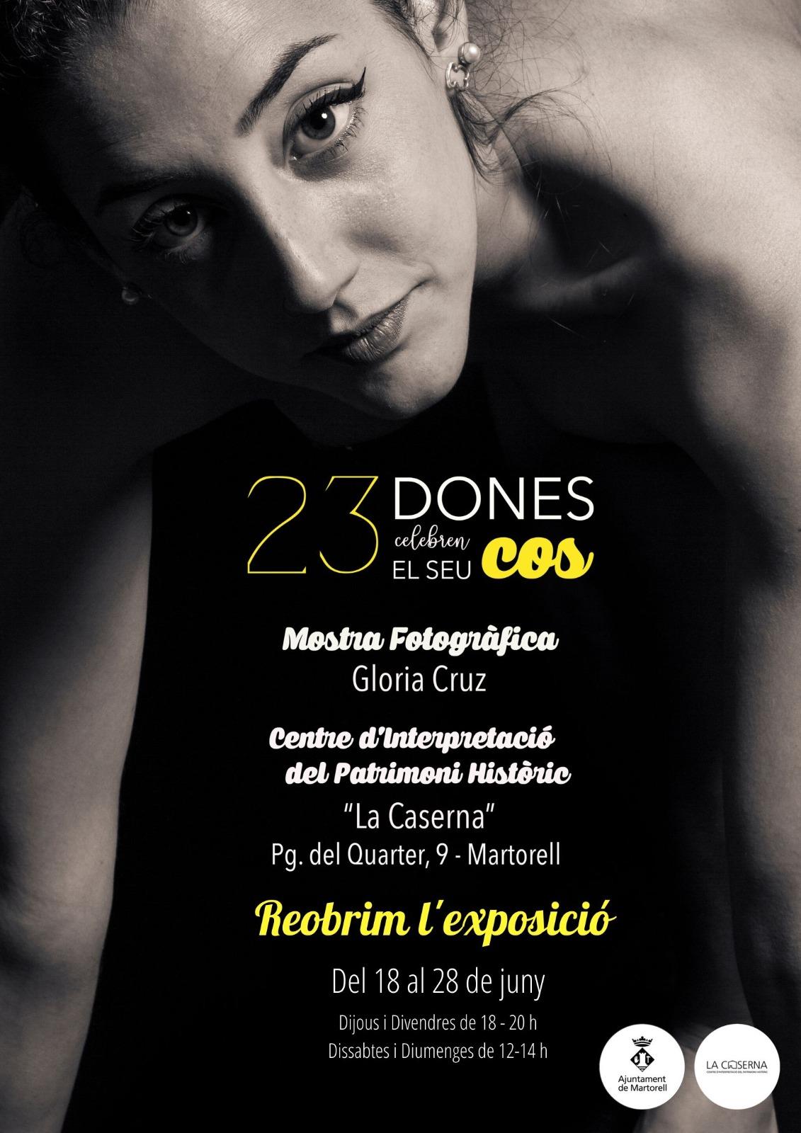 Reobertura de l'exposició '23 dones celebren el seu cos'
