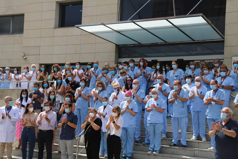 Homenatge al Doctor Chalco a l'Hospital Sant Joan de Déu