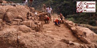 Tercera campanya d'excavacions del CEM a Sant Genís de Rocafort