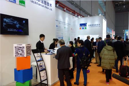 Viele Besucher kamen an den Stand von TecAlliance Asia, um sich das TecAlliance- Lösungsportfolio und insbesondere den TecDoc WEB CATALOG China präsentieren zu lassen.