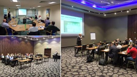 Impressionen von den Veranstaltungen in Birmingham und Warschau.