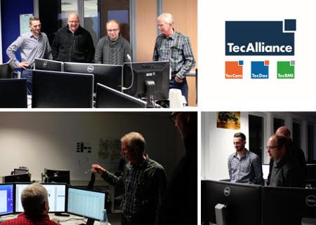 Impressionen vom ersten TecAlliance Werkstatt-Tag am 27. November 2015.