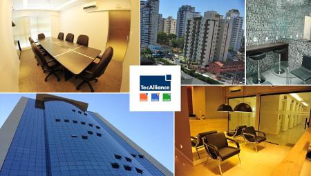 Die neuen Geschäftsräume der brasilianischen TecAlliance Niederlassung.
