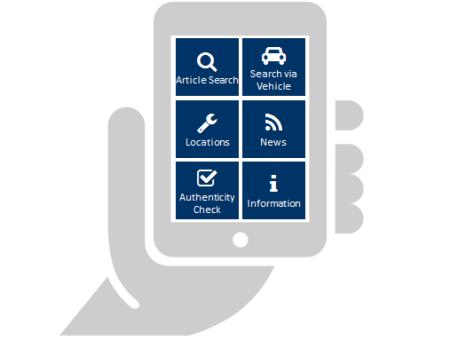 """Mit der App """"TecDoc Supplier APP CAT"""" können Teilehersteller ihren Kunden schnell und einfach einen Produktkatalog im eigenen Design und mit vielen weiteren Funktionen zur Verfügung stellen."""