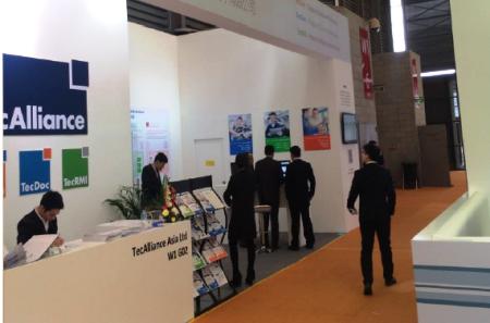 Viele Besucher kamen an den Stand, um sich das TecAlliance Lösungsportfolio und insbesondere den TecDoc WEB CATALOG China präsentieren zu lassen.