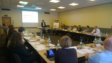 Participants at the TecCom SAP User Group in Frankfurt.