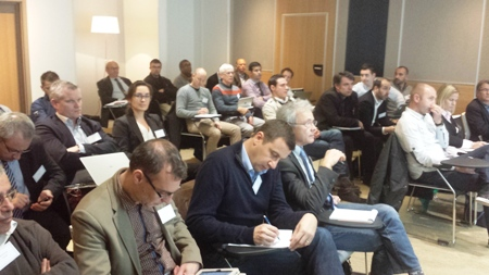 Participants at the event in in Paris