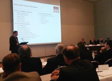Alexander Bresslau (Director Sales DACH for TecAlliance) presents the status of the standardisation project at the ASA Annual Members Meeting on 7 May 2014 in Berlin.