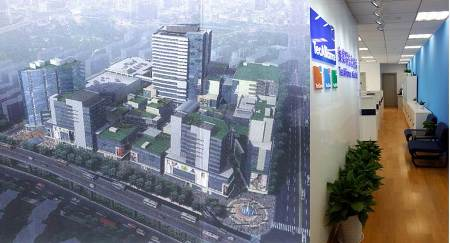 The new offices of TecAlliance Asia Ltd. in Shanghai