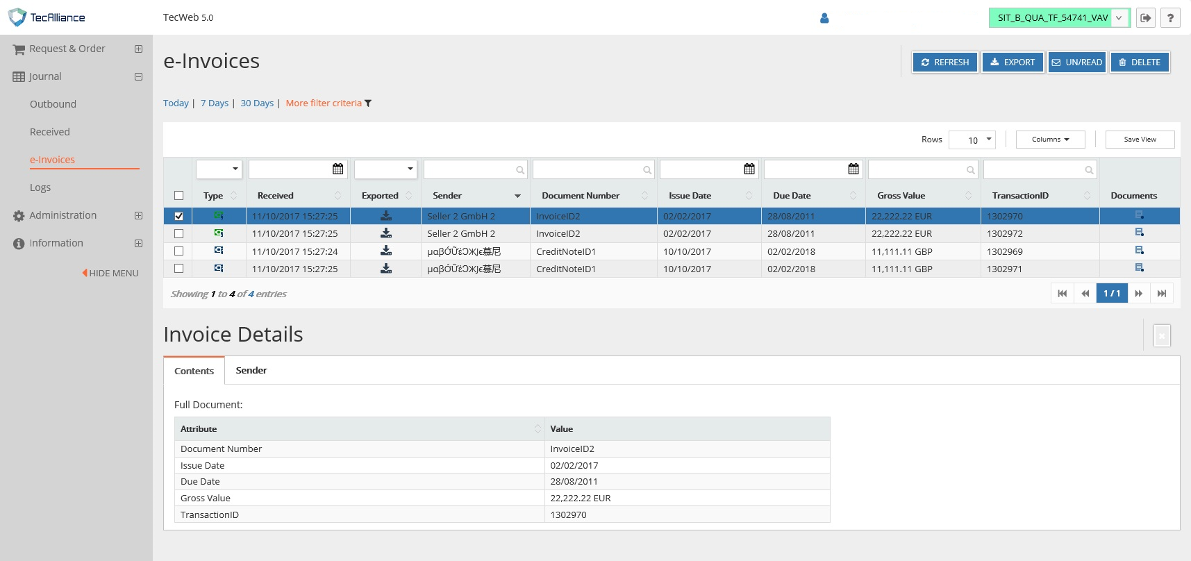 e-Invoicing Screenshot_EN