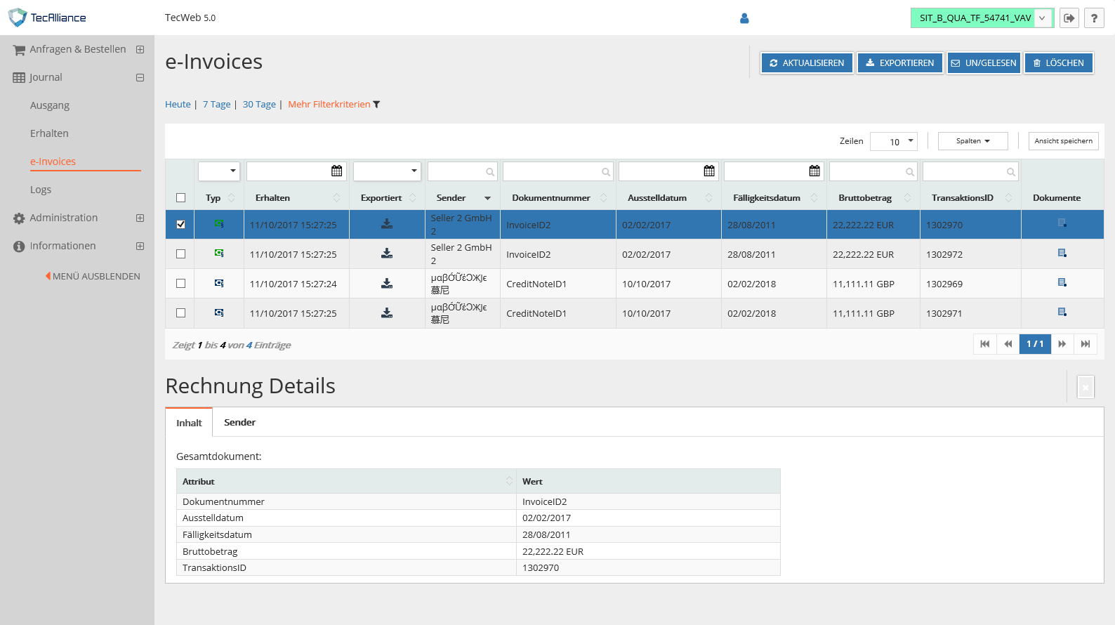 e-Invoicing_Screenshot_DE