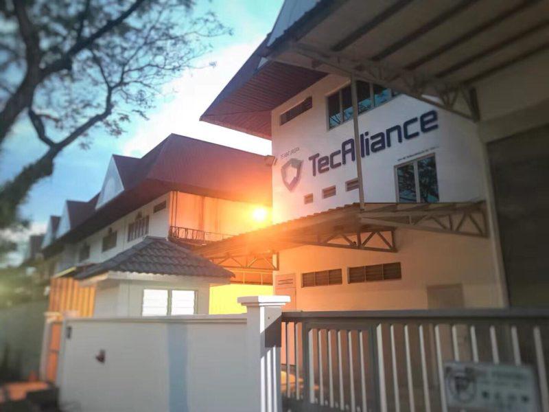 The TecAlliance office in Kuala Lumpur.
