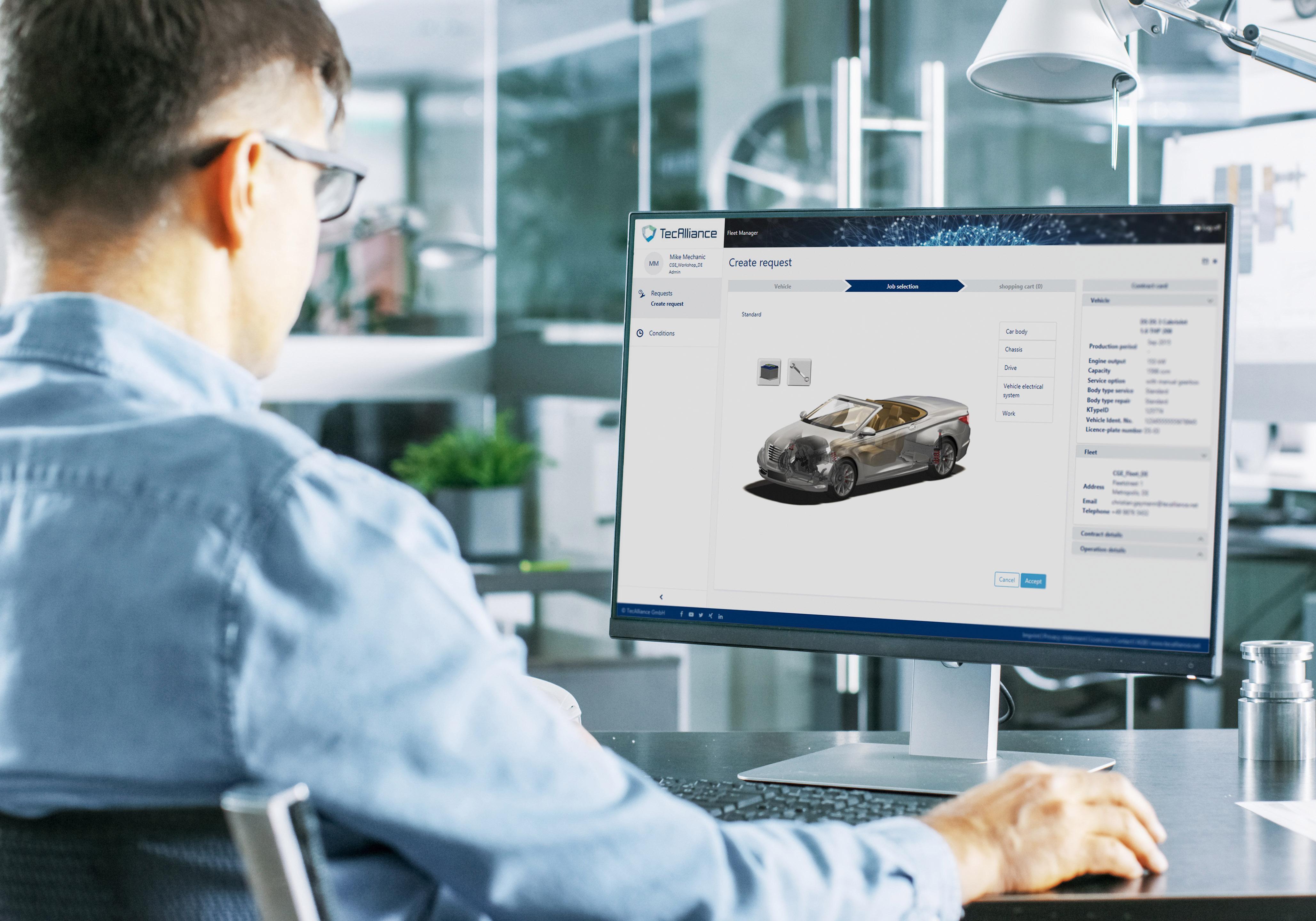 Optimierte Lösungen und Services dank Fahrzeugstammdaten
