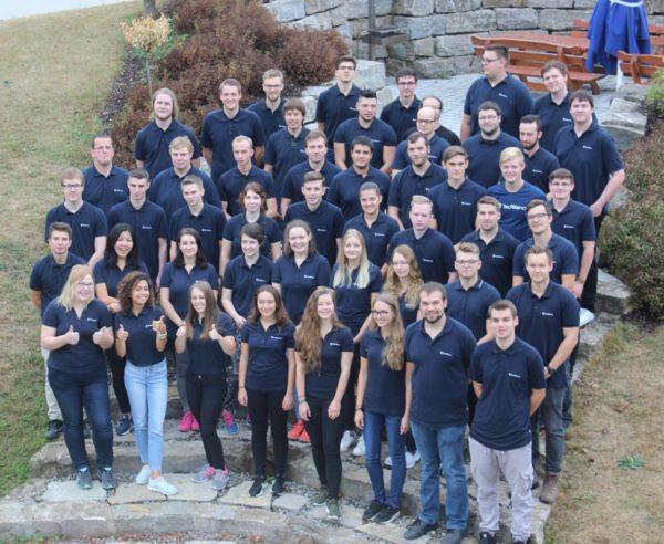 Die Auszubildenden und Dualen Studenten bei TecAlliance