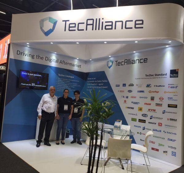 TecAlliance @ Automec Sao Paulo, Brasilien