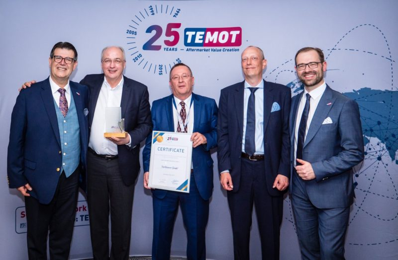 "TecAlliance riceve il premio TEMOT per ""Information Data Excellence"""