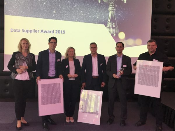 Los ganadores del Data Supplier Award 2019 de TecAlliance