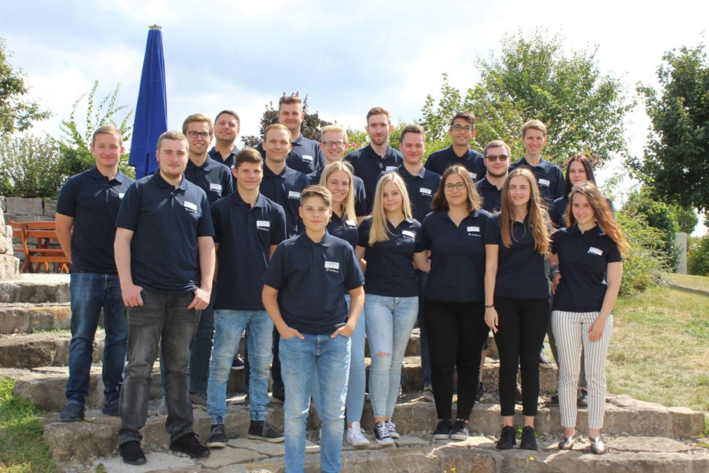 TecAlliance welcomed a total of 20 new apprentices and students in Weikersheim, Germany, to the start of the training course on 2 September.