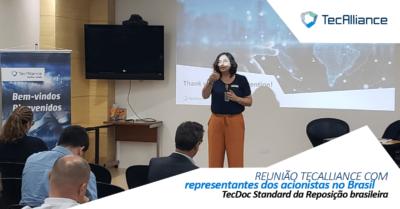 Reunião TecDoc Standard da Reposição brasileira com acionistas TecAlliance