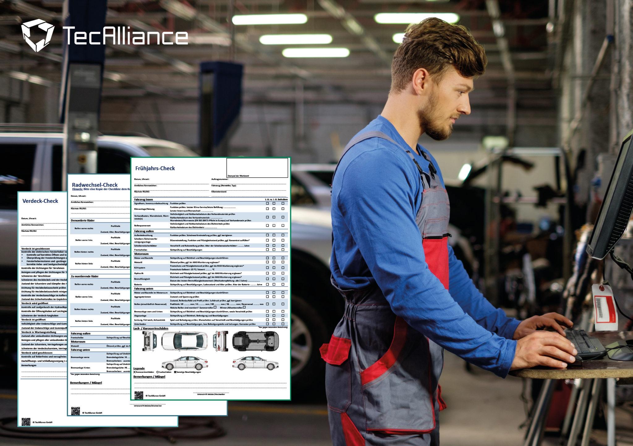 TecAlliance unterstützt Werkstätten bei Radwechsel und Frühjahrs-Check