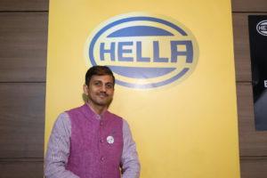 Rama Shankar Pandey, Geschäftsführer der Hella India Lightning Ltd. sowie Vorsitzender des Ausschusses für den Aftermarket beim indischen Verband der Automobilzulieferer ACMA.