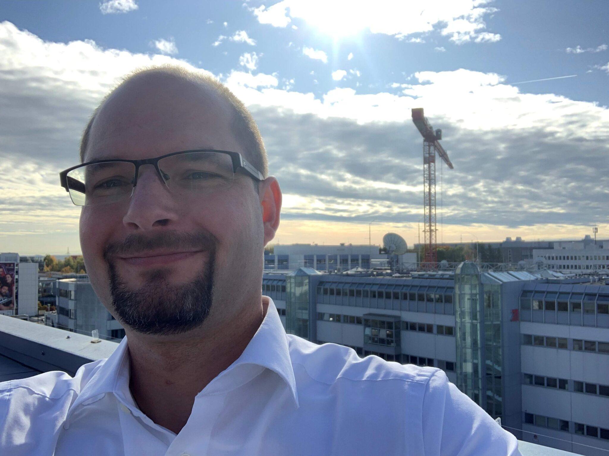 Erik Rimmasch, Group Manager Administration