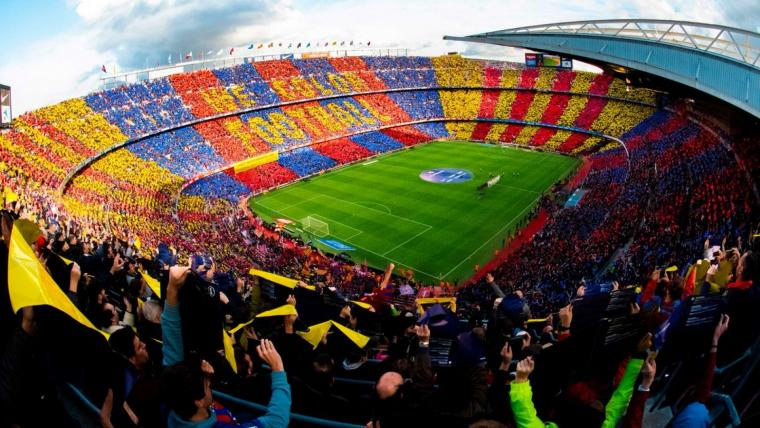 'We Color Football', el mosaic del Camp Nou abans del Clàssic. | FC Barcelona