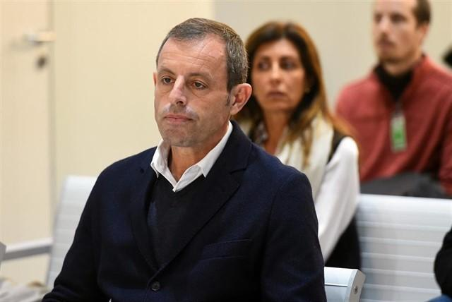 Sandro Rosell al jutjat. | Europa Press
