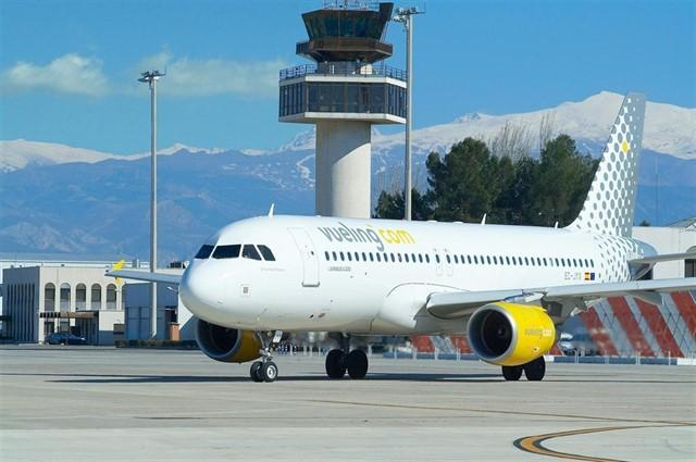Un avió de Vueling / Europa Press