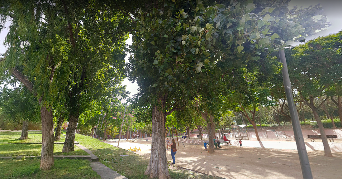El Parc Central de Nou Barris / Google Street View