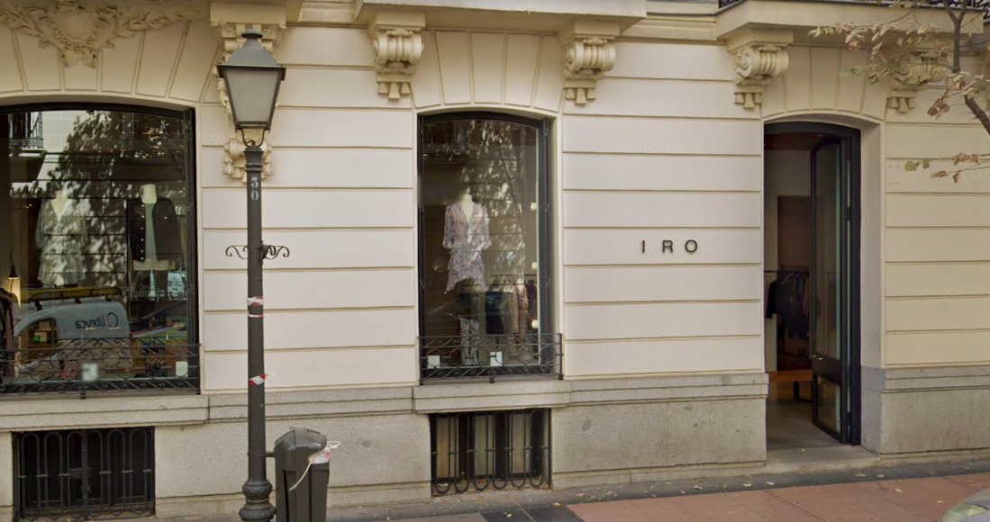 L'exclusiva botiga d'Iro a Madrid / Google Street View