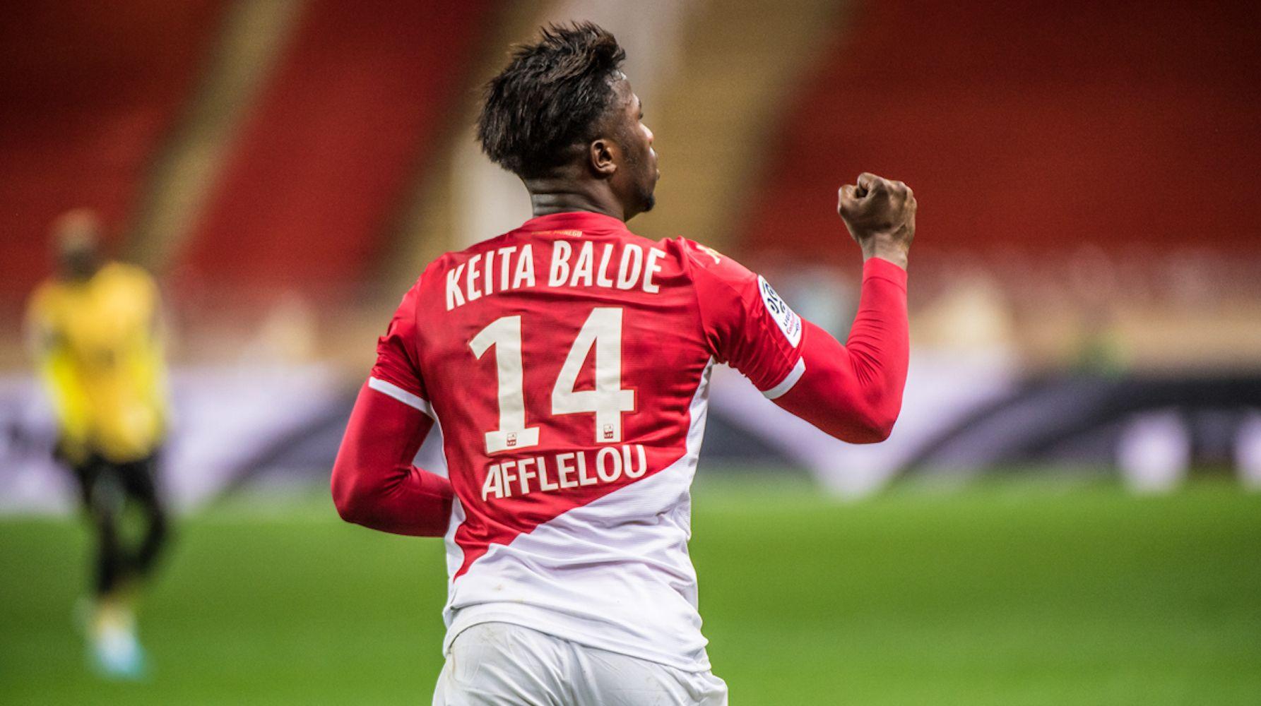 Keita Baldé, jugador del Mònaco   AS Monaco