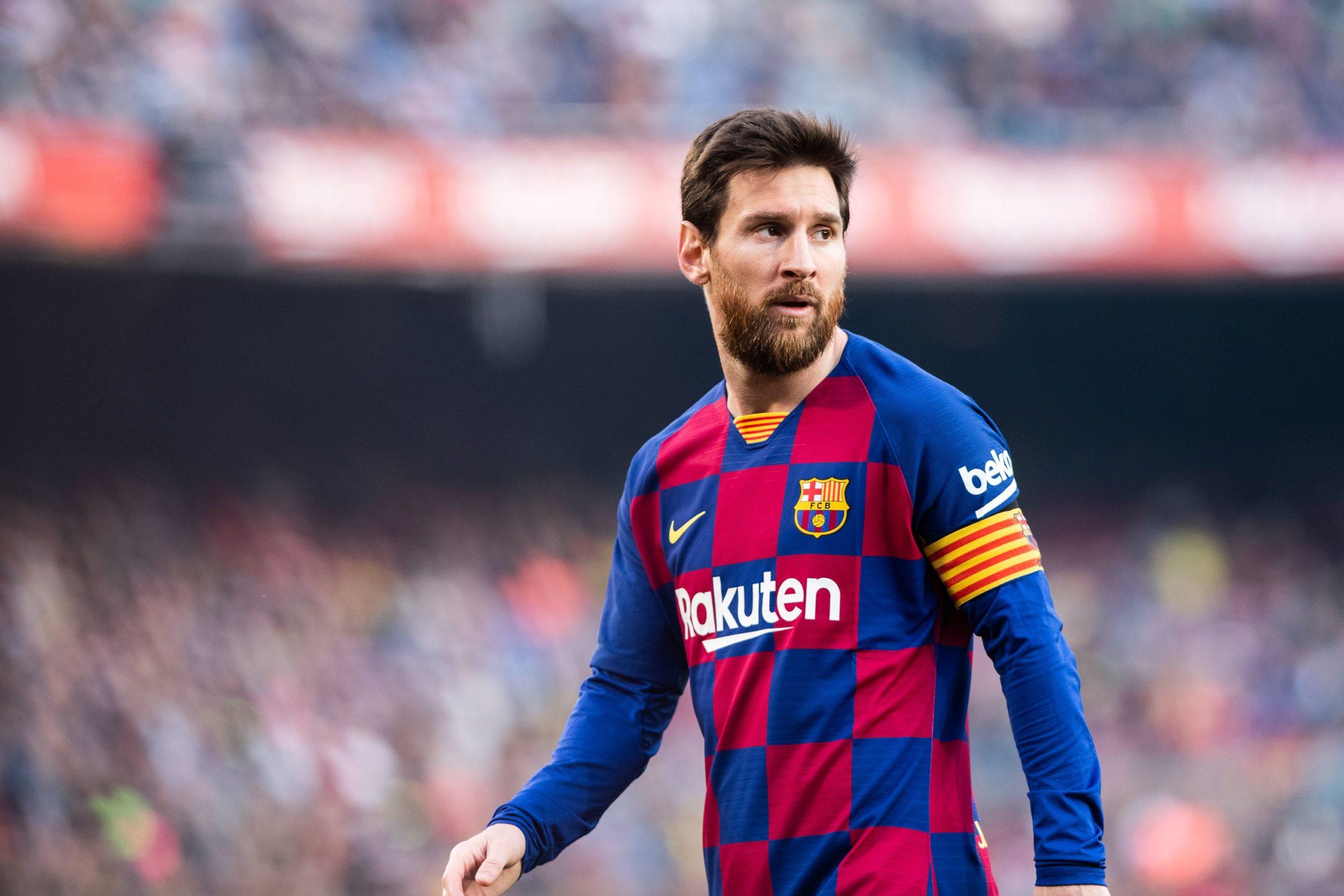 Leo Messi, durant un partit   Europa Press