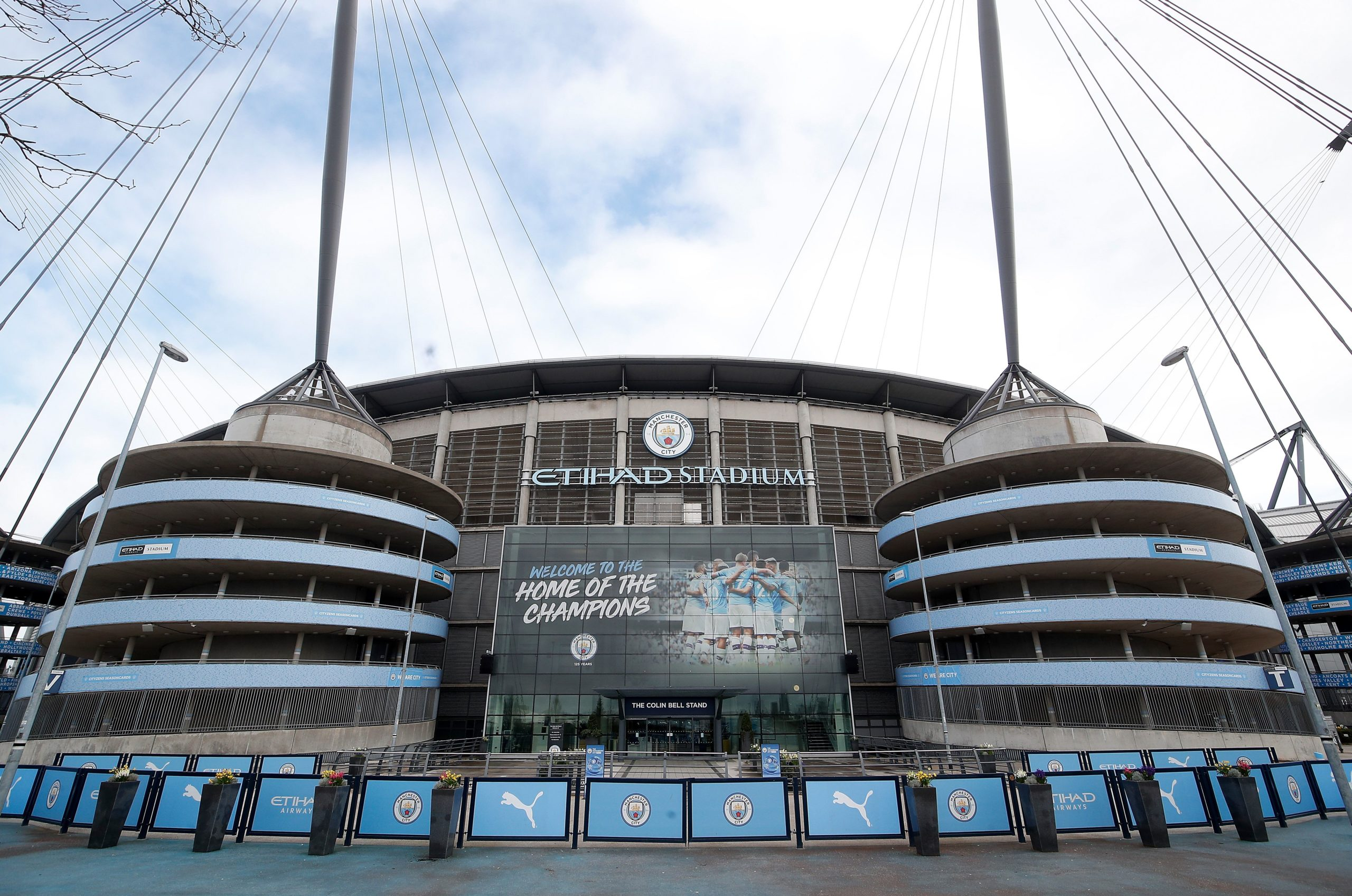 L'Etihad Stadium, estadi del Manchester City | Europa Press