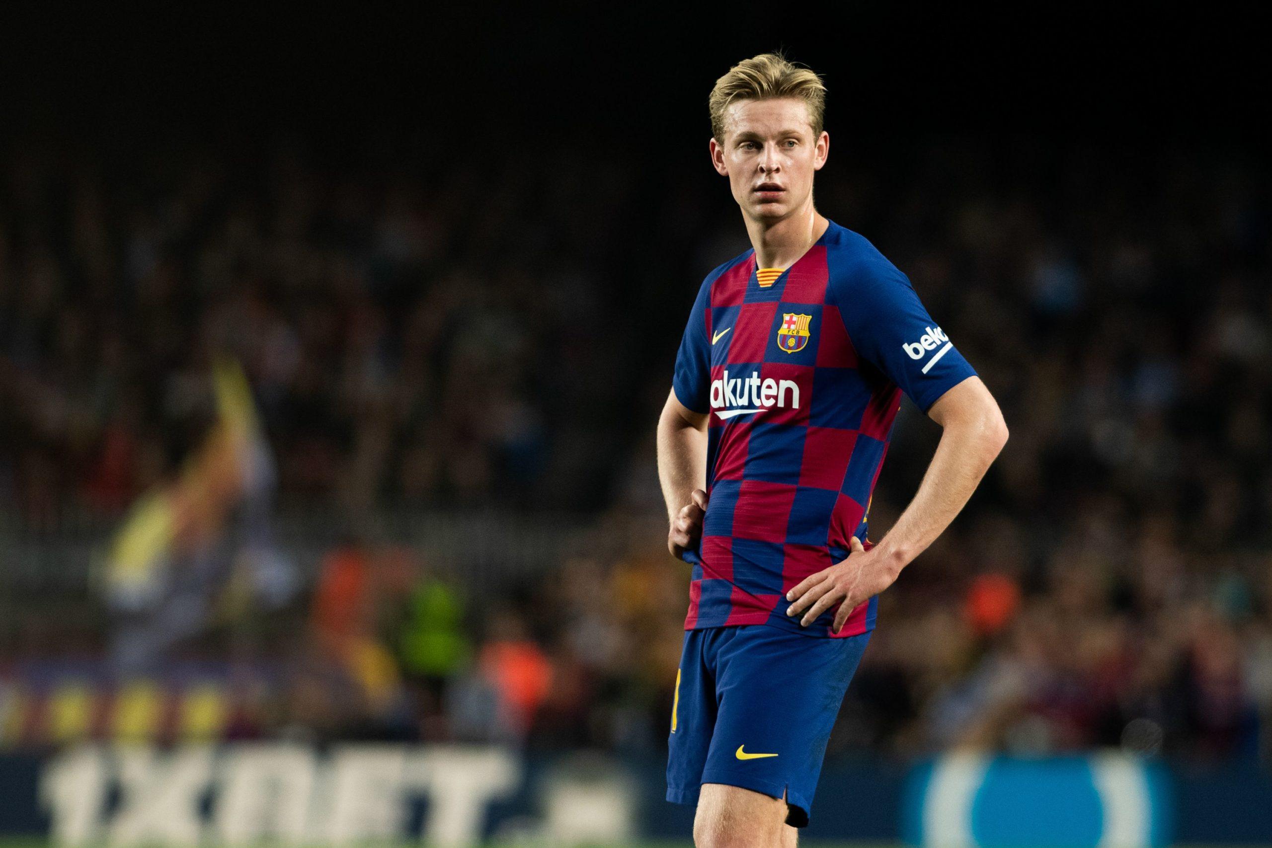 De Jong, durant un partit del Barça   Europa Press