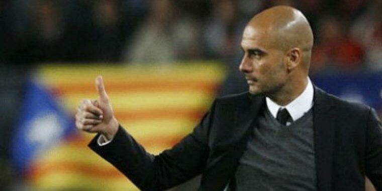 Pep Guardiola, al Camp Nou | Europa Press