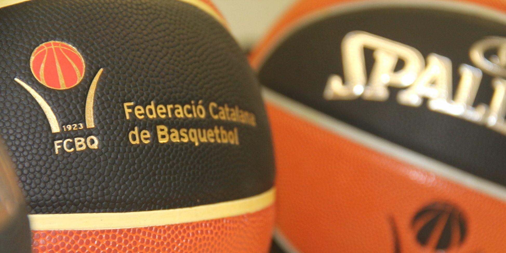 Pilotes de bàsquet, en arxiu | Federació Catalana de Basquetbol